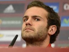 Mata se refirió a su gol mal anulado por el VAR en Twitter. Twitter