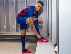 Matheus Pereira puede aportar muchas cosas al Barça B. Twitter/FCBarcelonaB