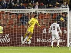 Mathías Olivera marcó el segundo del Albacete. LaLiga