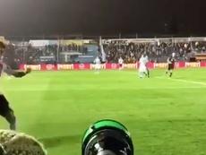 Matías Nani sufrió un duro golpe. Youtube