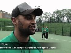 Durísima historia la del ex futbolista del Leicester Matt Piper. Youtube/SoarTV
