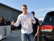 De Ligt est heureux de son arrivée à Turin. JuventusFC