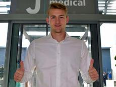Matthijs de Ligt explicó por qué eligió a la Juve. JuventusFC