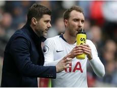 Tottenham veut vendre Eriksen. AFP