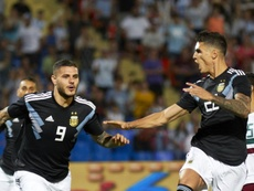Icardi and Dybala both scored their long awaited first goals for Argentina. TWITTER