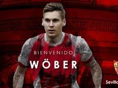 Wöber llega al Sevilla. EFE/Archivo