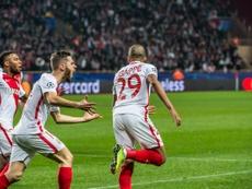 Mbappé de novo em destaque no triunfo do Monaco, no Signal Iduna Park. Twitter