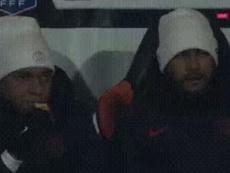 La imagen que demuestra que Neymar y Mbappé son inseparables. Captura/Eurosport