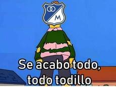 Los mejores 'memes' del Millonarios-América de Cali. Twitter