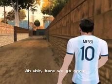 Messi, otra vez convocado. Twitter