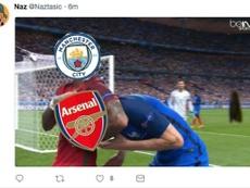 El City barrió al Arsenal. Naz