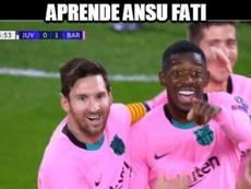 I migliori meme di Juve-Barça. MemeDeporte