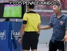 Los mejores memes del Palmeiras-River Plate. Twitter