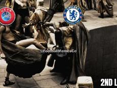 Los mejores memes del Bayern-Chelsea. Footballmemes