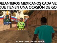 Los mejores 'memes' del Haití-México. Twitter