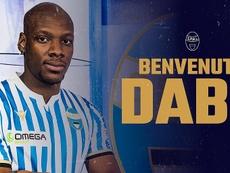 Bryan Dabo rejoint la SPAL en prêt avec option d'achat. Twitter/spalferrara