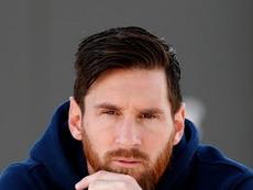 Messi garoto propaganda de uma marca de luxo. Instagram