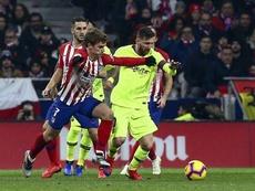 La presse catalane affirme que les joueurs du Barça ne veulent pas de Griezmann. EFE
