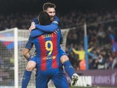 Lionel Messi, Neymar et Suarez sont à l'origine de la victoire du Barça. FCBarcelona