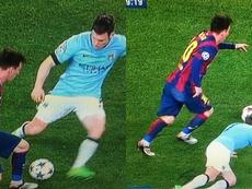 James Milner explicou como é jogar contra Lionel Messi. Capturas/Champions/beINSports