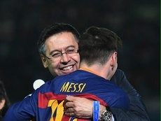 Bartomeu commenta le parole di Messi. EFE