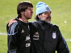 Messi racconta i suoi idoli. AFP/EFE
