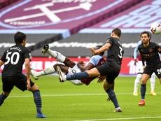 El Manchester City no pudo pasar del 1-1 ante el West Ham. EFE