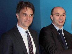 Michele Uva ofreció su opinión sobre la situación actual del fútbol. EFE
