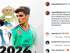 Miguel Gutiérrez confirmó su renovación. Instagram/miguel3gutierrez