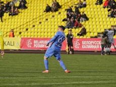 BATE y Dinamo Brest se citan en la final. Twitter/DynamoBrest