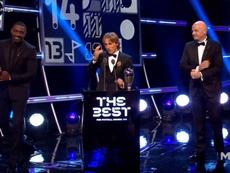 Modric, Cristiano et Salah en lice pour le trophée. FIFA