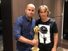 Modric es el favorito para ganar el The Best. Instagram