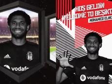 Mohamed Elneny, nuevo jugador del Besiktas. Twitter/Besiktas