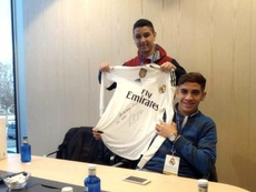 Mizzian, nueva apuesta del Madrid. Twitter/UDMelilla