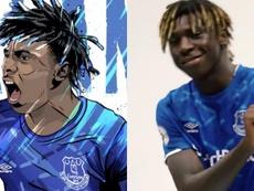 Everton signe Moise Kean
