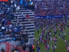 Suspendido el San Luis-Querétaro por incidentes en la grada. ESPN