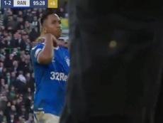 He made a gesture. Screenshot/Astv