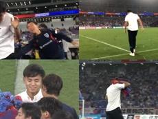 Despedida por todo lo alto. Captura/J_League