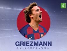 El Barcelona ficha a Antoine Griezmann. BeSoccer