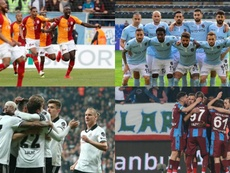 Los cuatro equipos turcos que jugarán en Europa. Galatasaray/Superlig