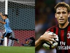 El recambio de Guido está entre Milán y Uruguay. EFE/AFP