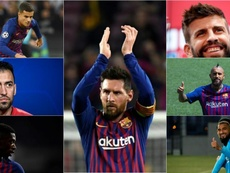 Le futur du Barça, joueur par joueur. AFP/EFE/BeSoccer