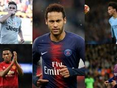 El PSG ya le busca sustituto a Neymar: seis opciones sobre la mesa. AFP/EFE