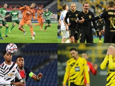 Los apuntes de ProFootballDB para el miércoles de la Jornada 5 en Champions. AFP