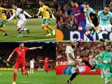 Tras los 700 goles de Cristiano lucen otras estrellas. EFE - AFP