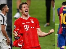 Al fin un jugador por encima de Messi y Cristiano. EFE - AFP