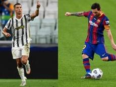 ¿Quién lleva más dobletes: Cristiano o Messi? EFE