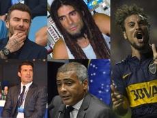Os ex-jogadores com trabalhos mais inusitados. EFE/AFP