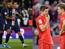 Estos son los mejores socios de los goleadores en las grandes ligas. AFP