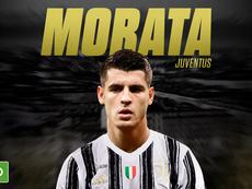 Morata on loan to Juventus. BeSoccer